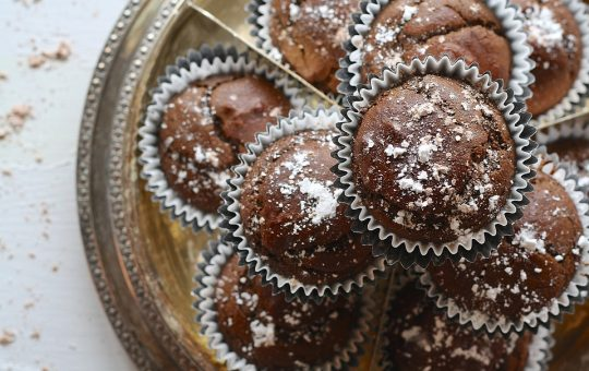 Recette de pâtisserie sans lactose - muffins aux pépites de chocolat