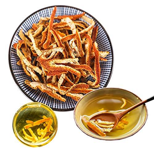 Tisane chinoise Pelure de mandarine séchée Nouveau thé parfumé Thé vert Soins de santé Fleurs de thé Aliments verts sains de qualité supérieure (100)