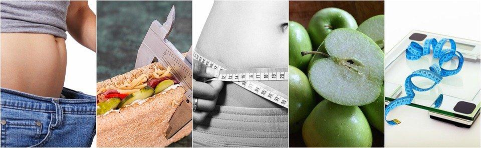 Régime Alimentaire, Collage De La Diète, En Bonne Santé